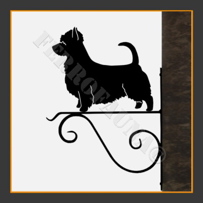 Australian Silky Terrier Flower Holder