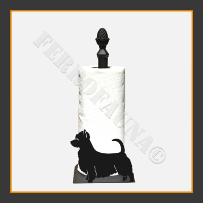 Australian Silky Terrier Kitchen Towel Holder