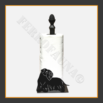 Cesky Terrier Kitchen Towel Holder