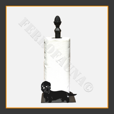Dandie Dinmont Terrier Kitchen Towel Holder