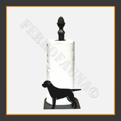 Border Terrier Kitchen Towel Holder