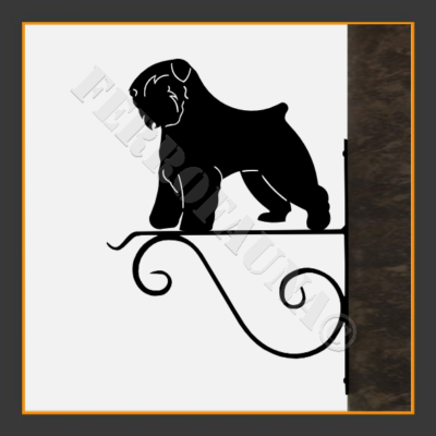 Bouvier des Flandres Flower Holder