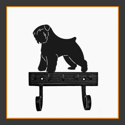 Bouvier des Flandres Key and Leash Holder