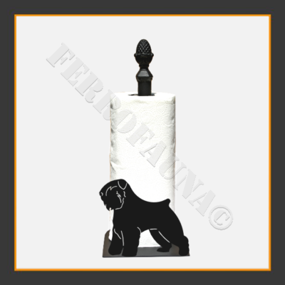 Bouvier des Flandres Kitchen Towel Holder