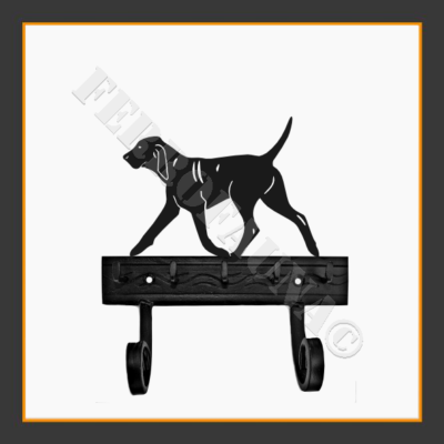 Bracco Italiano Key and Leash Holder