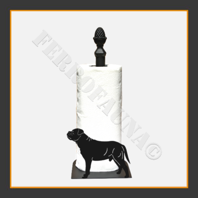 Bullmastif Kitchen Towel Holder