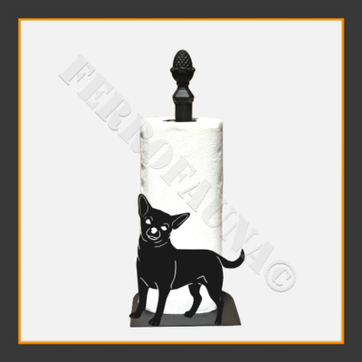 Chihuahua Kitchen Towel Holder