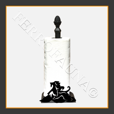 Afghan Hound v.2 KITCHEN TOWEL HOLDER