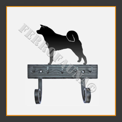 Akita Inu Key and Leash Holder
