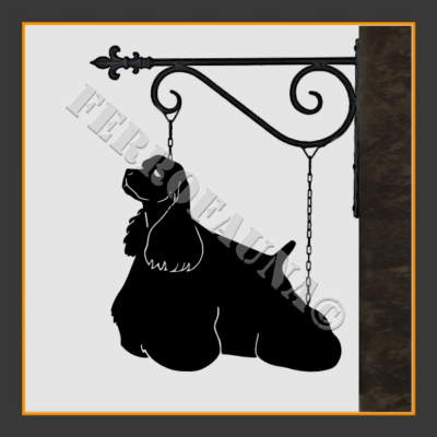 American Cocker Spaniel Sign