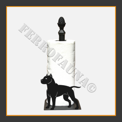 American Staffordshire Terrier Kitchen Towel Holder