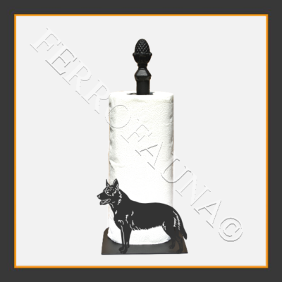 Australian Cattle Dog Kitchen Towel Holder