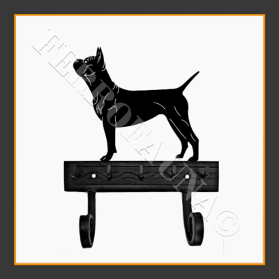 Chinese Chongqing Dog Key and Leash Holder