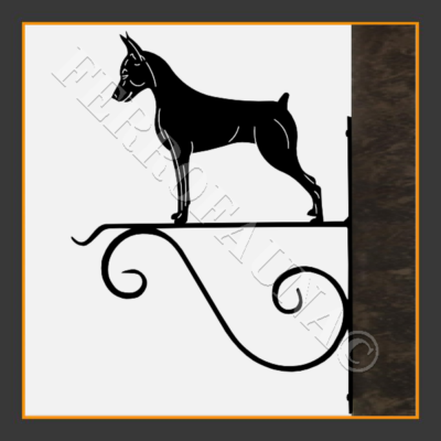 Pinscher  Flower Holder