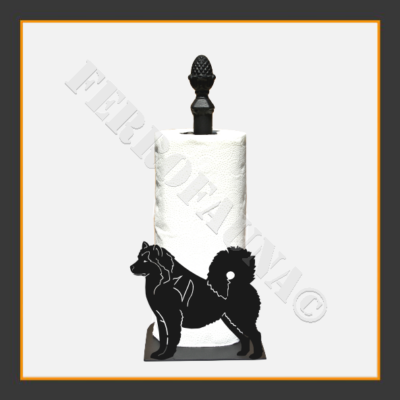 Alaskan Malamute Kitchen Towel Holder