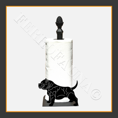 American Bully Kitchen Towel Holder