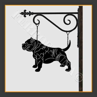 American Bully Sign