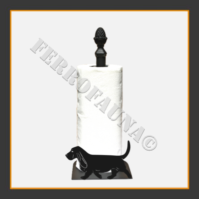 Basset Hound Kitchen Towel Holder