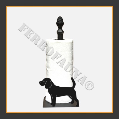 Beagle Kitchen Towel Holder