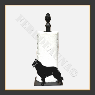 Belgian Shepherd Kitchen Towel Holder