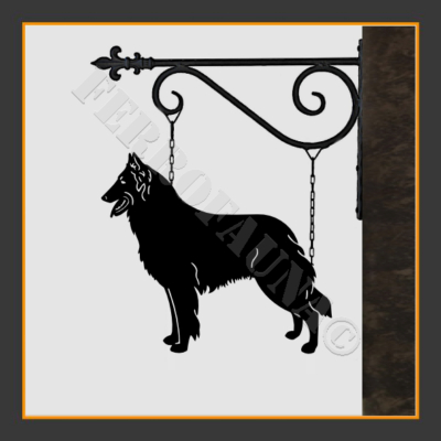 Belgian Shepherd Sign