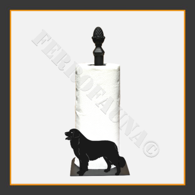 Bernese Mountain Dog Kitchen Towel Holder
