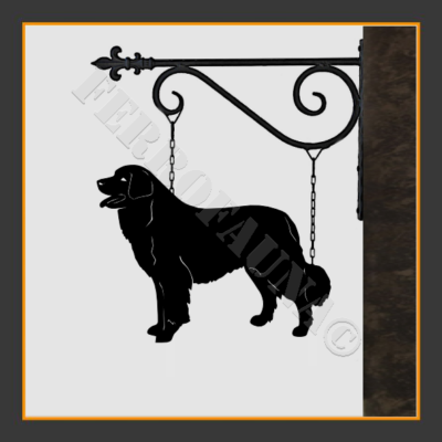 Bernese Mountain Dog Sign