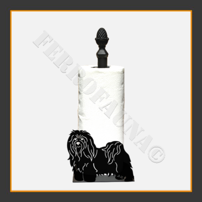 Bichon Havanese Kitchen Towel Holder