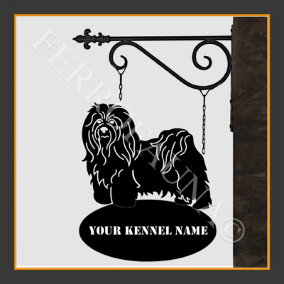 Bichon Havanese Sign With Kennel Name