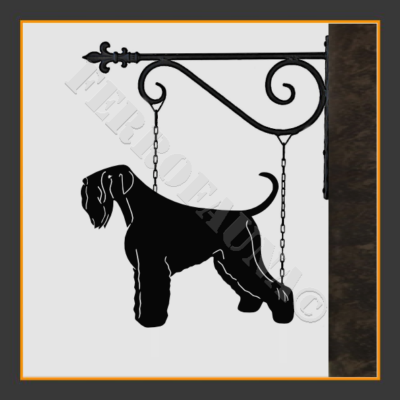 Black Russian Terrier Sign