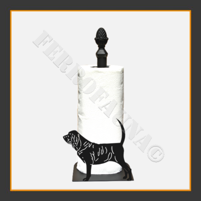 Bloodhound Kitchen Towel Holder