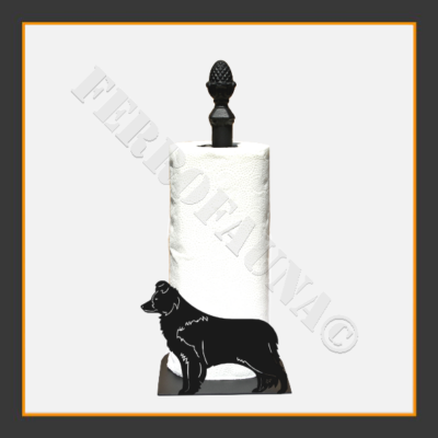 Border Collie V.2 Kitchen Towel Holder