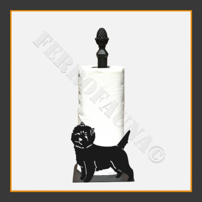 Cairn Terrier Kitchen Towel Holder
