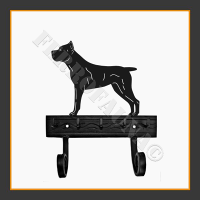 Cane Corso Key and Leash Holder