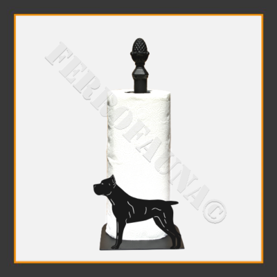 Cane Corso Kitchen Towel Holder