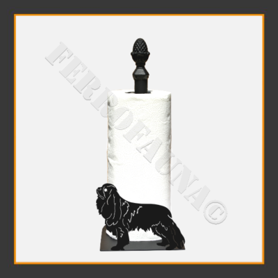 Cavalier King Charles Spaniel Kitchen Towel Holder