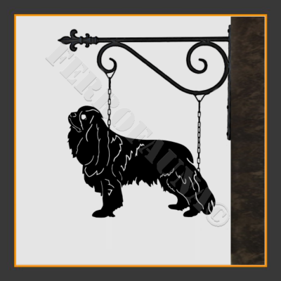 Cavalier King Charles Spaniel Sign