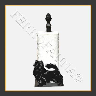 Chihuahua Long Kitchen Towel Holder