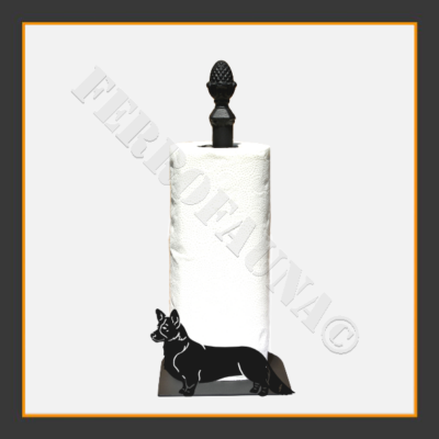 Corgi Kitchen Towel Holder