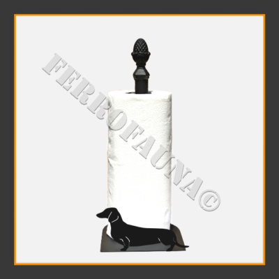 Dachshund Kurzhaar Kitchen Towel Holder