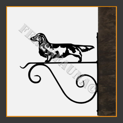 Dachshund Langhaar Flower Holder