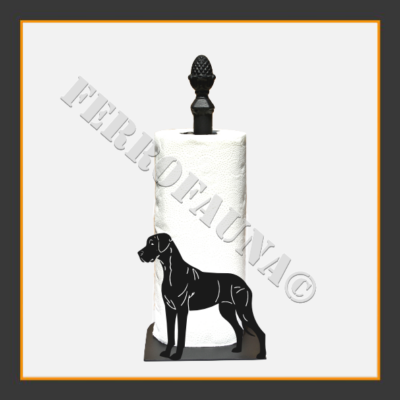Deutsche Dogge Kitchen Towel Holder
