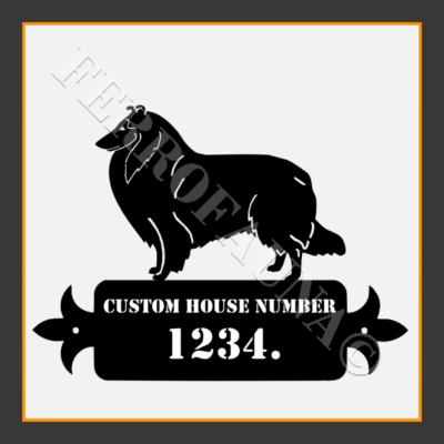 Collie  Custom House Number