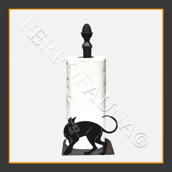 Cornish Rex Kitchen Towel Holder
