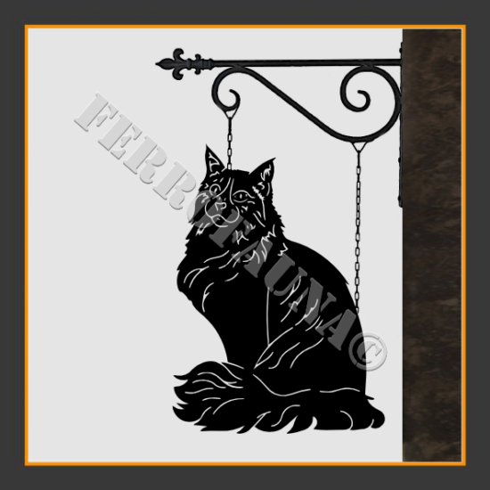 Maine Coon Sign