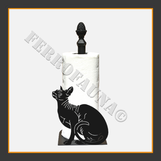 Sphinx Kitchen Towel Holder