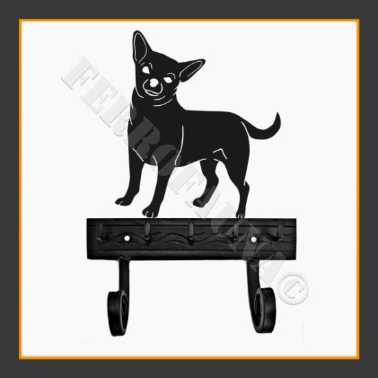 Chihuahua Key and Leash Holder