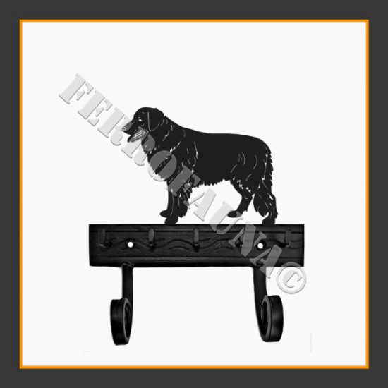 Hovawart Key and Leash Holder