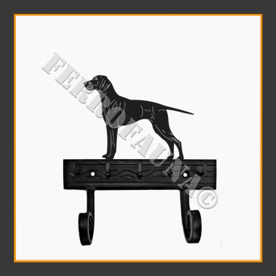 Magyar Vizsla Key and Leash Holder