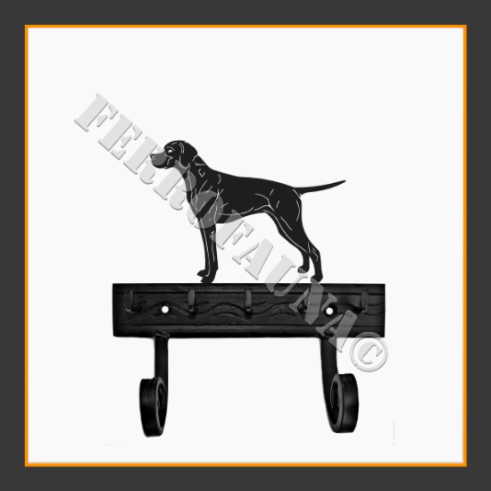 Pointer Key and Leash Holder